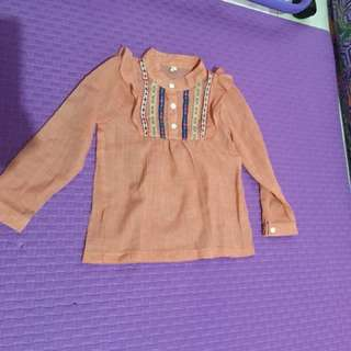 Blouse 2-3years