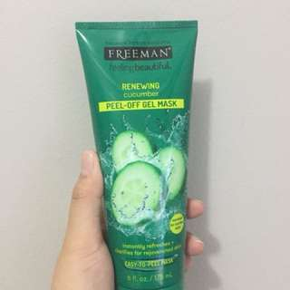 Freeman Facial Peel-Off Cucumber Mask