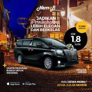 Promo Sewa Alphard Transformer 2016 di Jakarta Hanya di Nemob.id
