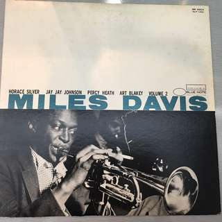 Miles Davis ‎– Volume 2, Japan Press Vinyl LP, Blue Note ‎– NR-8831, 1983, no OBI