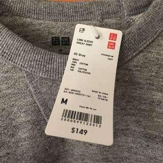 Long Sleeve Sweat Shirt