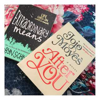 Jojo Moyes After you and Robyn Schneider Extraordinary means