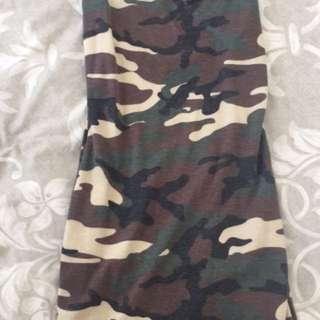 Fashion nova army dress