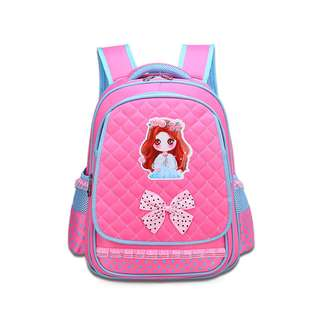 Girls waterproof wear primary school bag 13 - 4 - 5-6 grade princess girls cute shoulder bag 6-12 years old