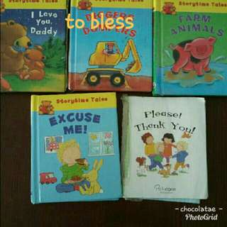 To bless Children's Books & bagpack