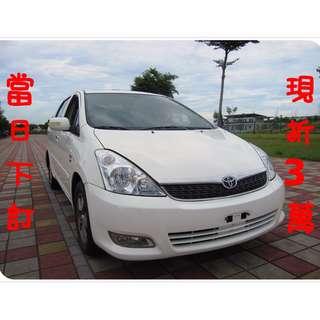 2006年 豐田 WISH 7人座休旅車