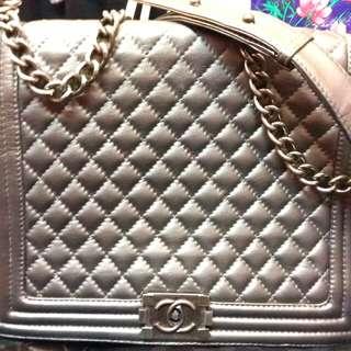 復古Chanel鏈揹袋(不議價)
