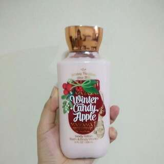 Bath & Body Works Lotion - Winter Candy Apple