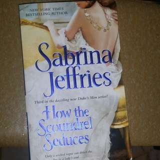 3) Sabrina jeffries buy 3 $5