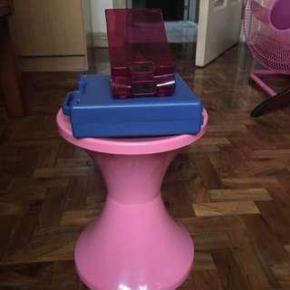 Stool/cd holder/ phone stand
