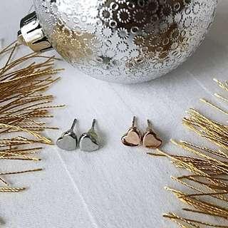ChristmasCam #buy1take1 Mini Heart Earrings