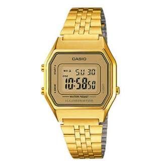 Casio Standard LA680WGA-9 Digital Watch OEM