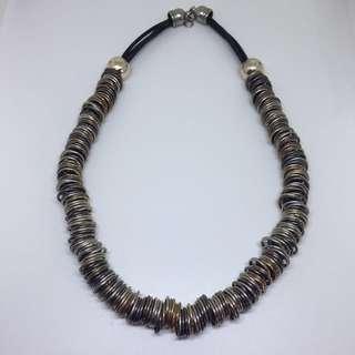 Kalung Emas Perak Bulat Rings