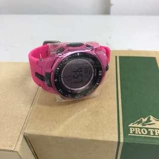 Casio PROTREK pink Tough Solar Watch PRW 3000 4BDR
