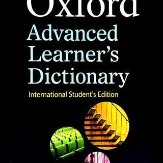 Kamus bahasa inggris OXFORD, bonus CD