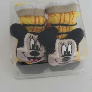 3D baby sock
