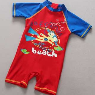 Unisex Baby Swimming Romper- NEWBORN