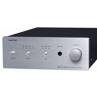 Musichall DAC 25.2 USB Tube Dac & head amp