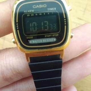 Casio black gold originial