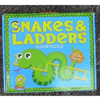 Snakes and Ladders Game and Puzzle