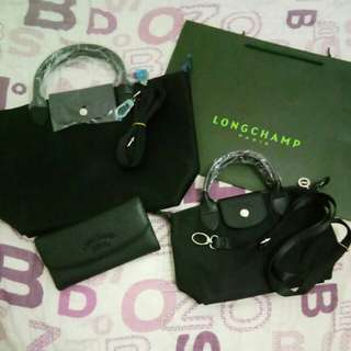 Longchamp Bags with free Longchamp Wallet
