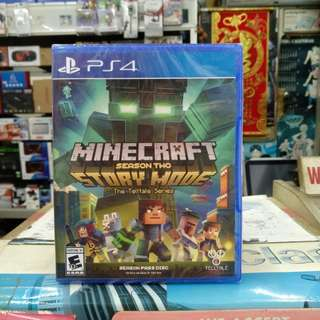 🆕 PS4 Minecraft Story Mode Season Two