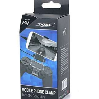 PS3/PS4 Dual Shock Controller to Mobile Phone Clamp