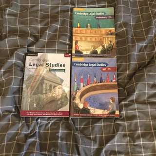 LEGAL STUDIES TEXTBOOKS