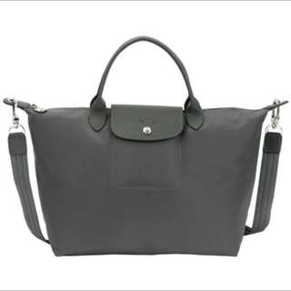 🚚 Longchamp 厚尼龍短把手提袋