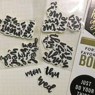 custom! handmade bujo/planner stickers .:*・゜゚・* #1212YES