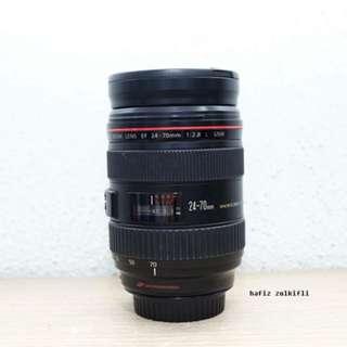 Canon 24-70mm 2.8 L