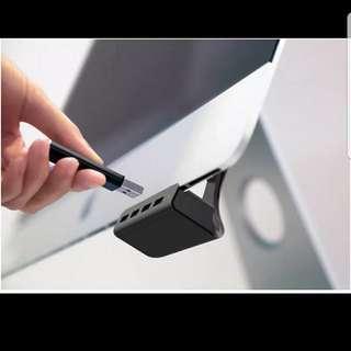 iMac薄Mon專用USB3.0一開四分槽