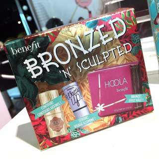 BENEFIT HOOLA BRONZED 'N' SCULPTED KIT BRAND NEW & AUTHENTIC (NO OFFERS) IDEAL GIFT