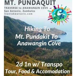 MT PUNDAKIT  And Anawangin 3d 2n