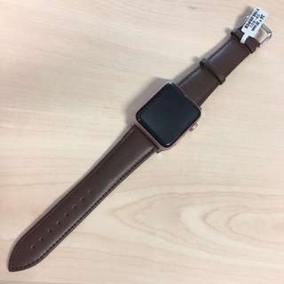 Apple Watch 42mm Band strap 錶帶 genuine leather 皮
