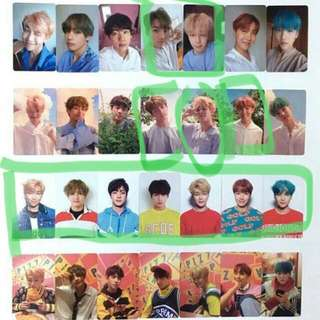 [WTB] BTS LOVE YOURSELF PHOTOCARDS
