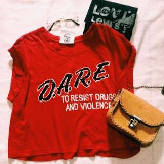 Forever 21 Crop Top (Dare)