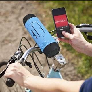 Zealot S1 Bluetooth Speaker Ourdoor bicycle (Power Bank + Flashlight+Bike Mount+Carabiner)