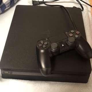PS4 Slim 2017 黑色 500g