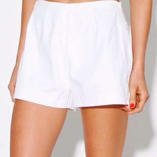 Jaggar White Shorts