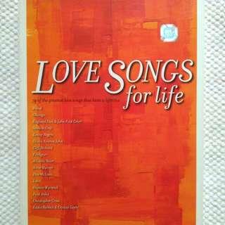 Love Songs for Life - Kompilasi lagu-lagu everlasting 😍 (isi 4CD)