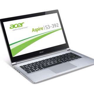 Acer Aspire S3 392G laptop Ultrabook core i5