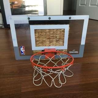 Mini NBA hoop