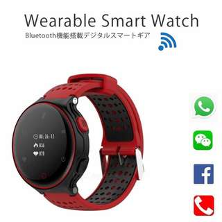 [ 全防水 ] 智能手錶 Smart Watch- WHATSAPP WECHAT FB IG 信息顯示/來電顯示/血壓,心率監測/卡路里計算 /計步器/睡眠監測 IP68 Fitness Tracker Heart Rate Sex Activity Monitor Pedometer for iPhone Android