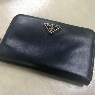 Authentic Prada Zip-Around Wallet/Purse