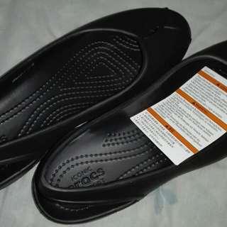 Brand New Black Women's Crocs Iconic Shoes Size W8