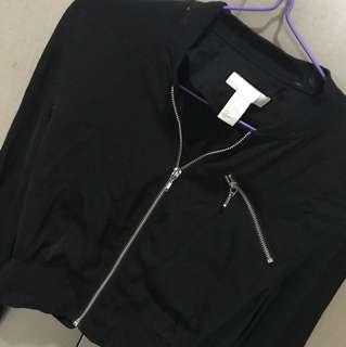 H&M lightweight bomber jacket