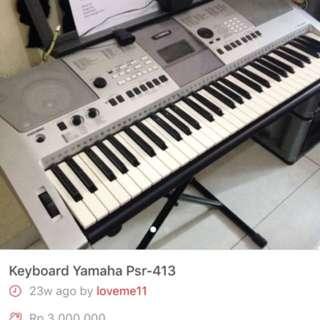 Keyboard Yamah PSR - E 413