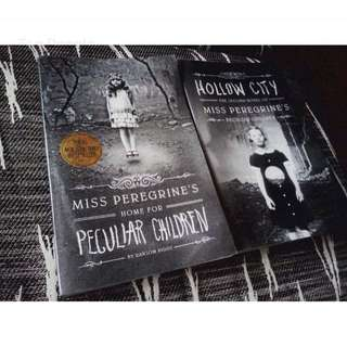 Miss Peregrine's Peculiar Children (Book 1 and 2)