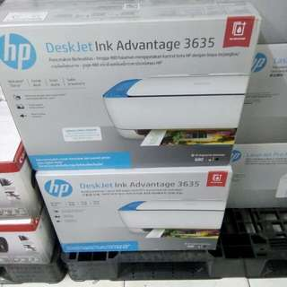 Printer HP 3635 Print Scan Copy Wifi